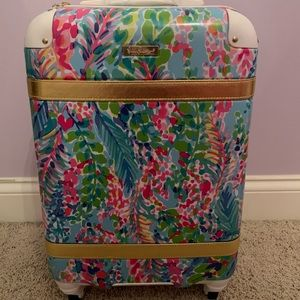 Lilly Pulitzer Catch the Wave Suitcase